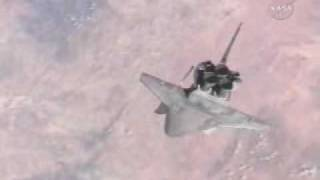 STS 115 - SPACE SHUTTLE ATLANTIS BACKFLIP