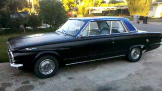 1963 Plymouth Valiant Signet 200 cold start/idle
