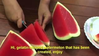 Watermelon Jello Mold: So Much Summertime Fun!