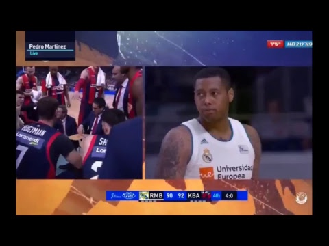 Real madrid - baskonia - live second half