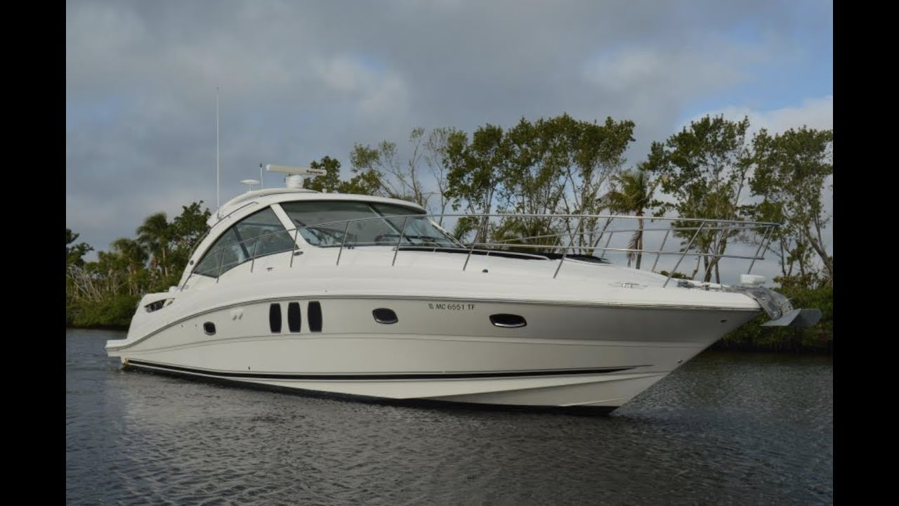 2008 Sea Ray 480 Sundancer Sport Yacht For Sale At Marinemax Fort Myers