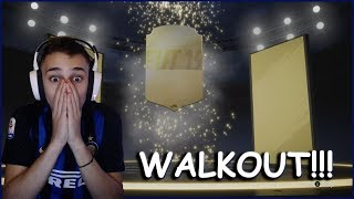 89 WALKOUT + RED HAZARD IN A PACK OPENING!!! + ΦΑΝΕΛΕΣ!!!