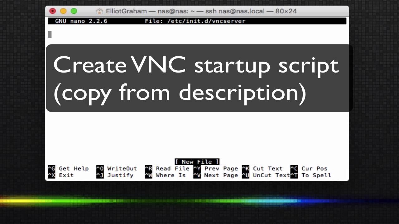 How to Set up a VNC Server on Headless Ubuntu Server 14 04