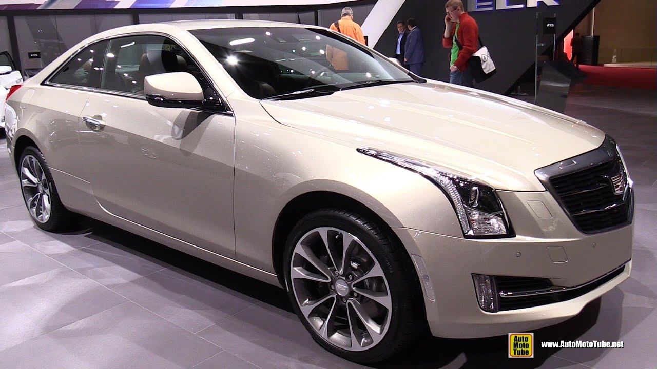 2015 Cadillac Ats 4 Coupe 2 0t Exterior And Interior Walkaround