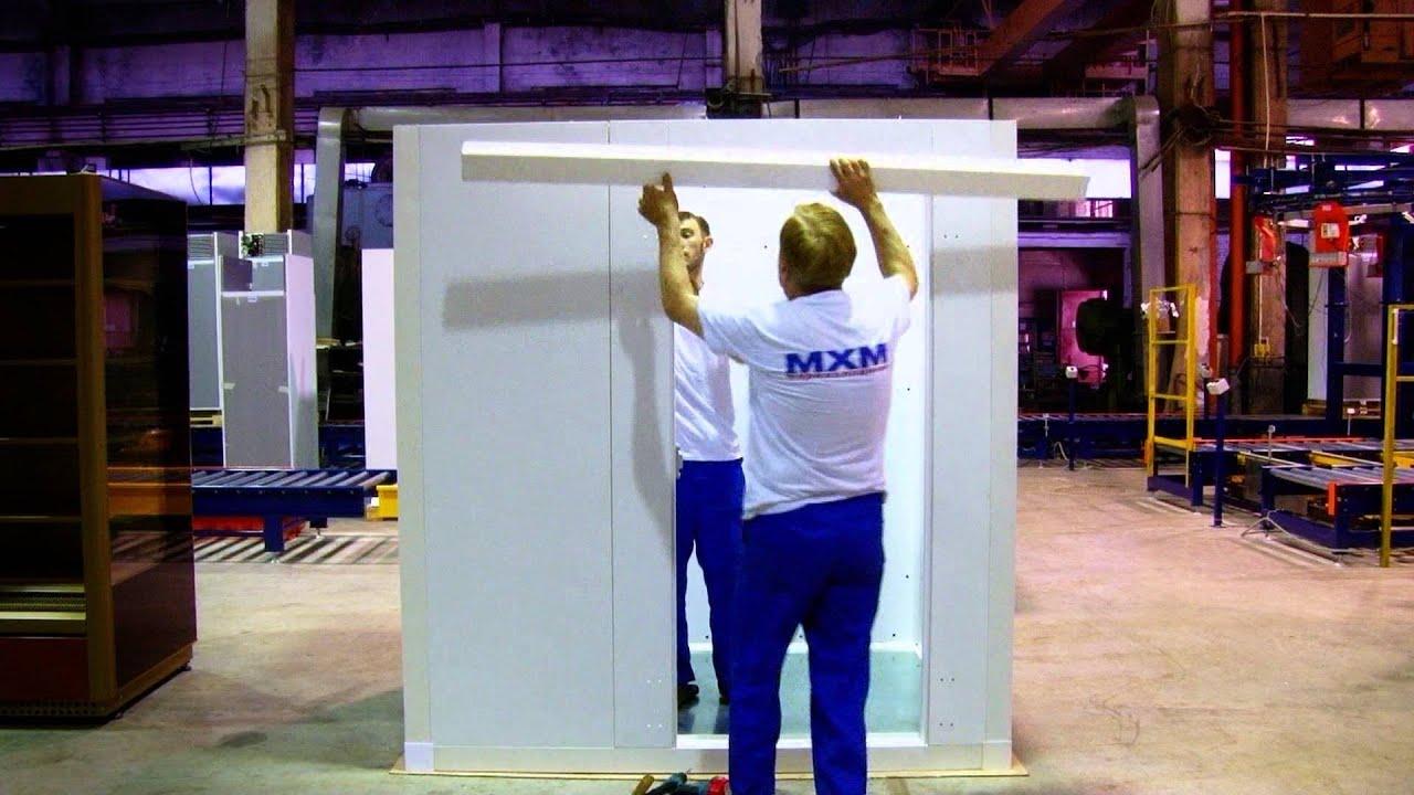 Замена испарителя холодильной камеры на ARISTON - YouTube