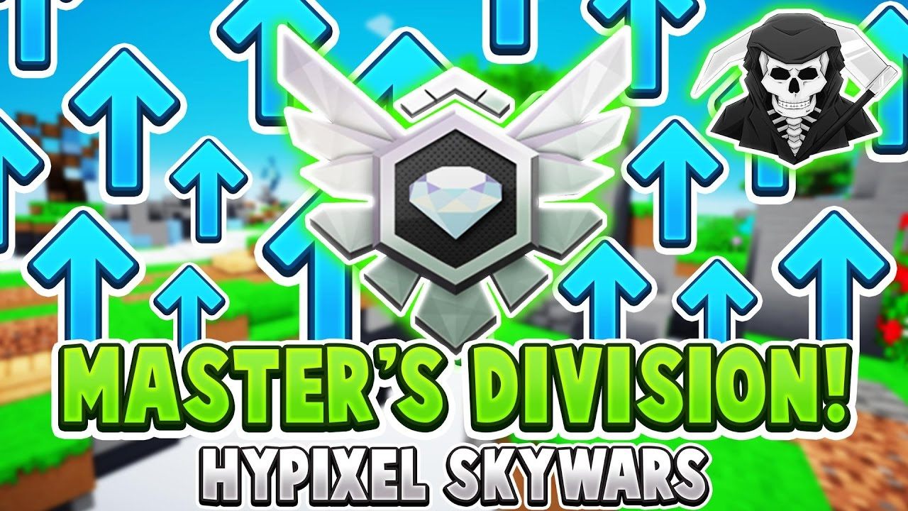 getting into master s division hypixel skywars getting into master s division hypixel skywars