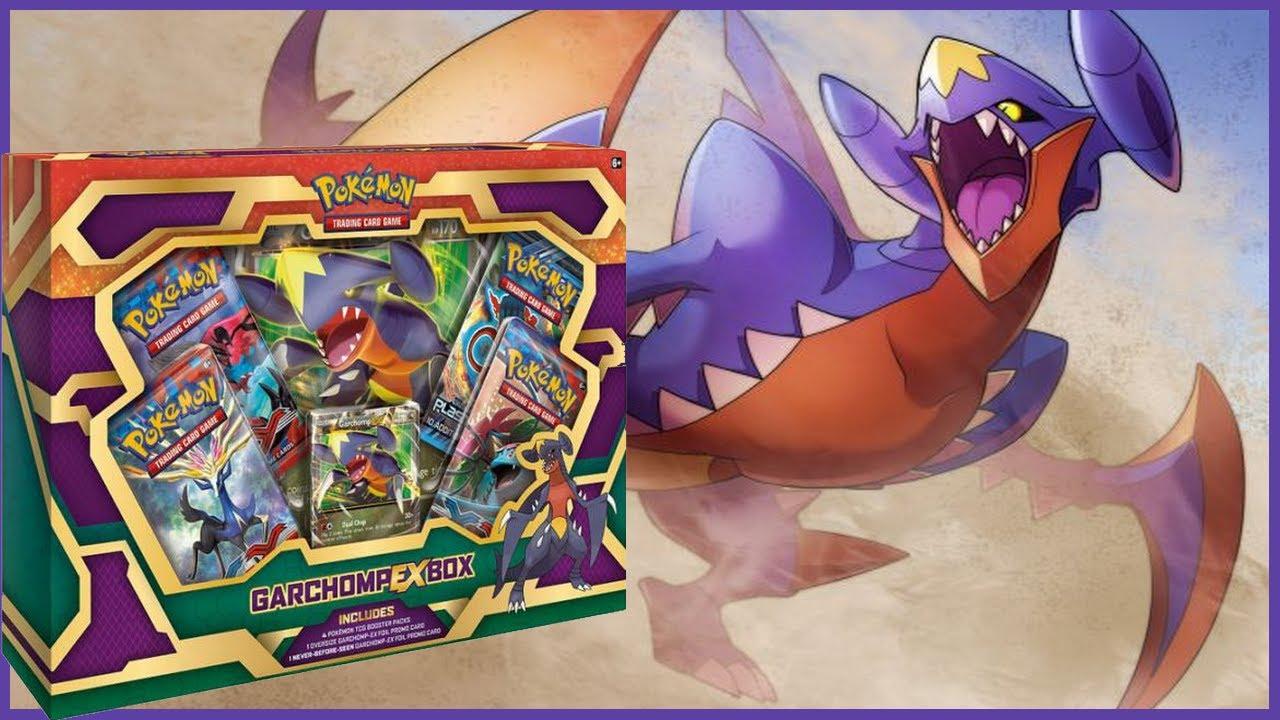 pokemon garchomp ex carchacrock ex box opening
