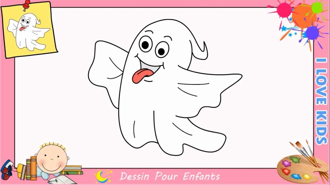 Comment dessiner un fant me pour halloween kawaii facilement halloween 2017 youtube - Dessiner un fantome ...