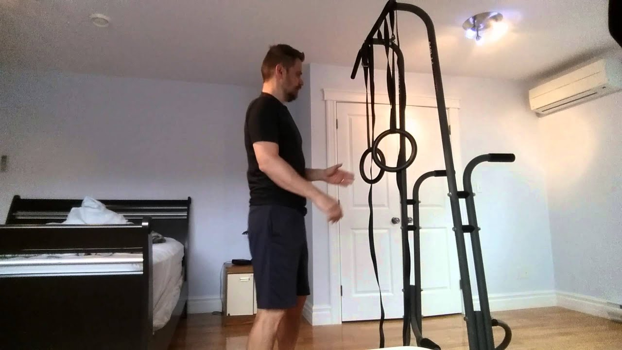 New Gymnastic Rings Pull Up Dip Tower Chat Youtube