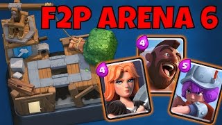 GETTING TO ARENA 6 with TRIFECTA - Free to Play Clash Royale Series
