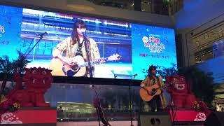 """Anly performed """"Kono Yami wo Terasu Hikari no Mukouni""""(「この闇を照..."""