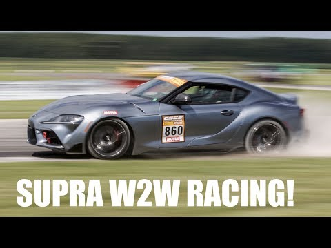 2020 Toyota Supra Wheel-To-Wheel Racing! CSCS Max Attack TMP Cayuga - Project TA90 #5