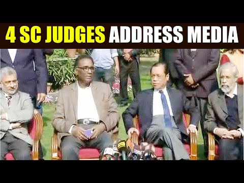 Supreme Court sitting Judges address media, say administration is not in order   Oneindia News
