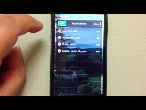 Weather Traveler PRO iPhone App Review
