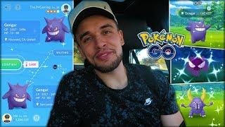 CATCHING NEW SHINY POKÉMON ON GENGAR DAY! (Pokémon GO)