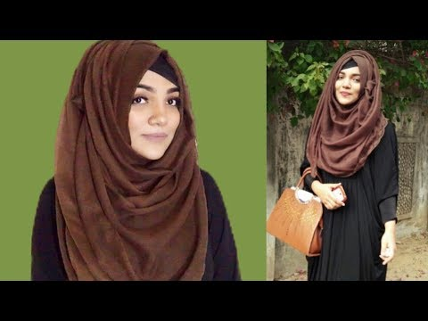 Hijab style with Borkha, Abaya, Shrug & Cotty || Mutahhara♥️
