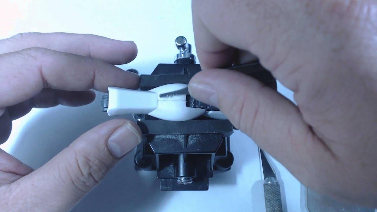 Removing Seam Lines - Super Glue Method