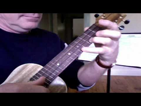 Rawhide Solo Riff as per GUGUG and Ukulele Club Songbook