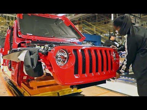 2019 Jeep Wrangler JL – PRODUCTION LINE – American Car Factory
