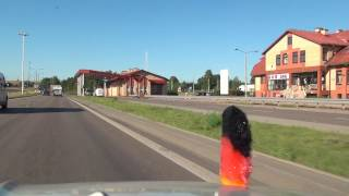 Naujienėlė Trakėnai Šarkis Podwojponie A5 E67 Litauen Lithuania Polen Poland 2.8.2016 #1343