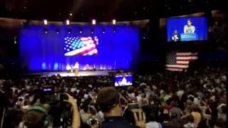 Sarah Silverman Introduction to Bernie Sanders LA