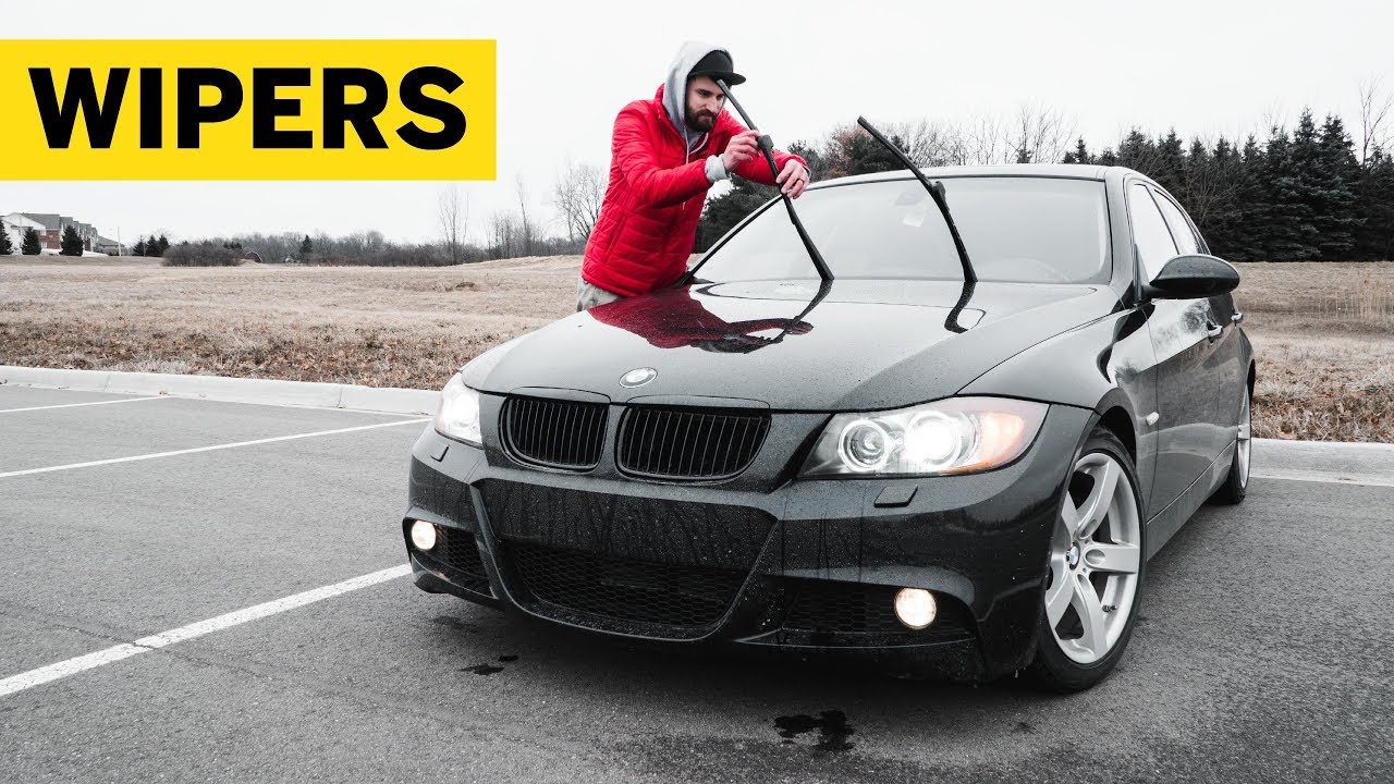 How To Replace E90 BMW Windshield Wipers