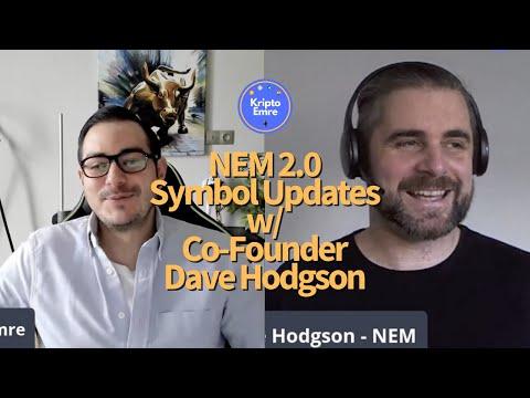 NEM (XEM) 2.0 Updates and Crypto Chat w/ Co-Founder Dave Hodgson (TR Altyazılı)