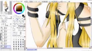 Lily Vocaloid speedpaint