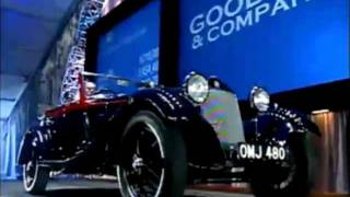 1933 Alfa Romeo 6C 1750 Gran Sport Drop Head Coupe at 2012 Scottsdale Auction