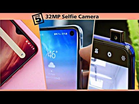 Top 5 Smartphones With 32MP Selfie Camera (2019)