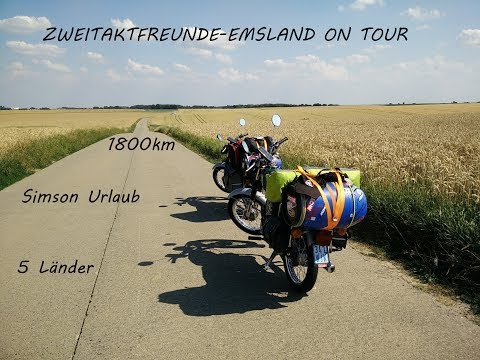 Simson Schwarzwald Tour | Moped Urlaub | S50B²