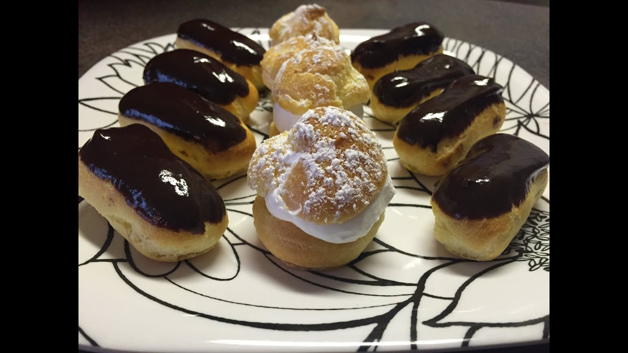 Easy 201 Clair And Cream Puff Tutorial Youtube