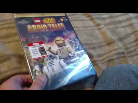 Unboxing Star Wars droid tales
