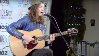 BØRNS performs 10,000 Emerald Pools LIVE in the CD102.5 Big Room