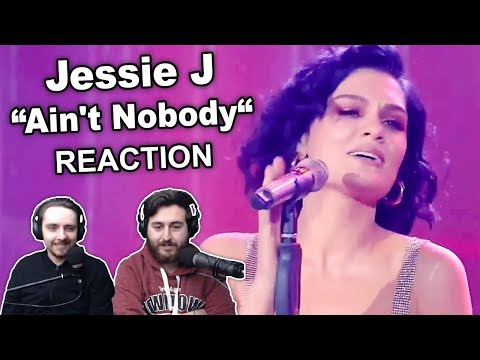 """Singers Reaction/Review to """"Jessie J - Ain't Nobody"""""""