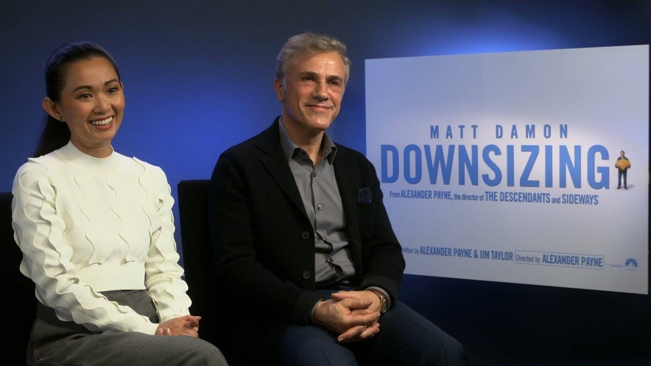Download Downsizing interview: hmv.com talks to Hong Chau & Christoph Waltz