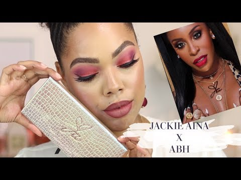 JACKIE AINA X ANASTASIA BEVERLY HILLS REVIEW + SWATCHES + COMPARISON thumbnail