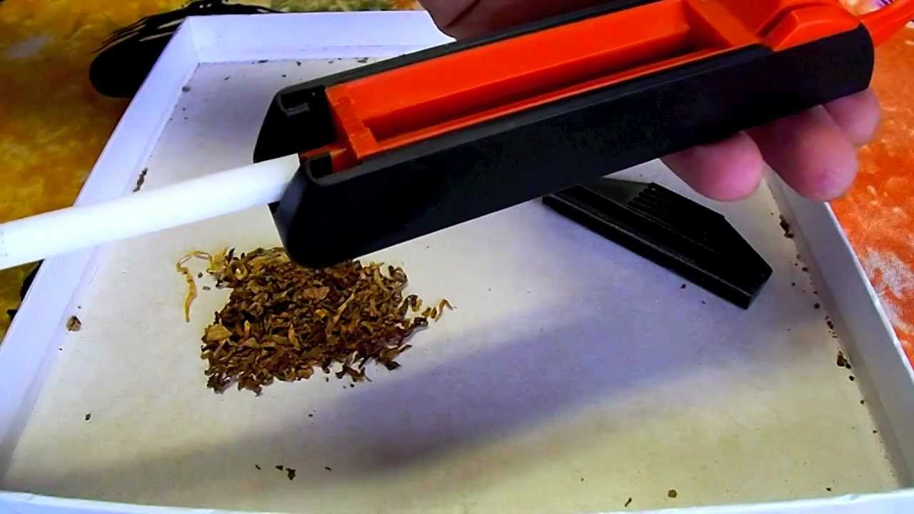 diy  how to make-your-own cigarette