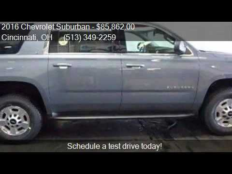 Chevy Suv For Sale >> 2016 Chevrolet Suburban LT Fleet 3500HD AWD 4dr SUV for ...