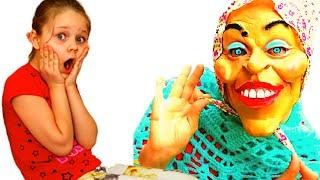 Няня и забавная история для детей на канале Лисенок Алисенок
