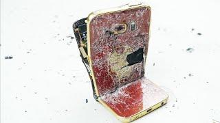 نسخة الـ iron man من الـ Galaxy S6 Edge تتعرض للتعذيب