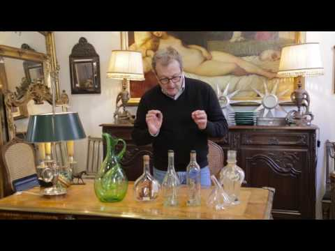 Quirky Antique French Glassware.
