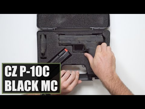 Unboxing the New CZ Striker Fired P-10C Black MC