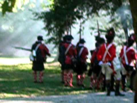 Part 1: Battle Of Germantown Revolutionary War Reenactment In Germantown, PA On October 2, 2010