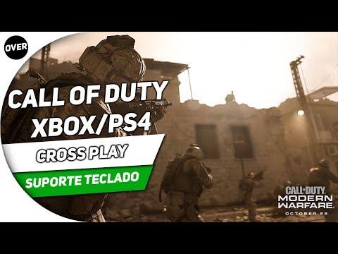 📰 CALL OF DUTY: MODERN WARFARE XBOX/PS4 | CROSSPLAY E SUPORTE A TECLADO E MOUSE