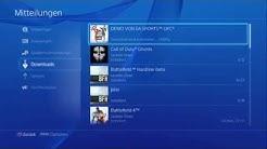 Playstation 4 - Downloads anhalten & fortsetzen (Tutorial)