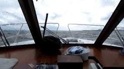 Näsijärvellä 3.7.2012, tuuli10 metriä sekunnissa