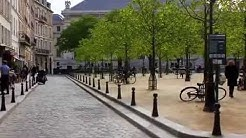 Place Dauphine, Paris. Location in Woody Allen's 'Midnight in Paris'