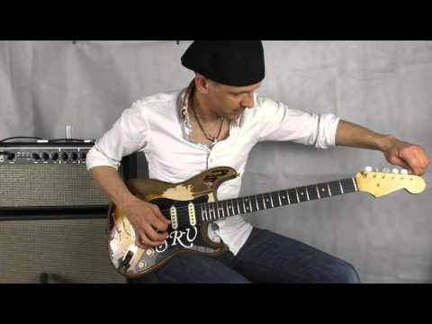 Stevie Ray Vaughn Tribute Fender Stratocaster vs. Rory Gallagher Tribute Fender Stratocaster