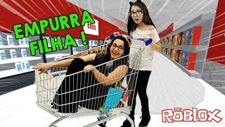 ROBLOX-ESCAPING from the SUPERMARKET WITH MY MOTHER (Escape The Grocery Store Obby) | Luluca Games